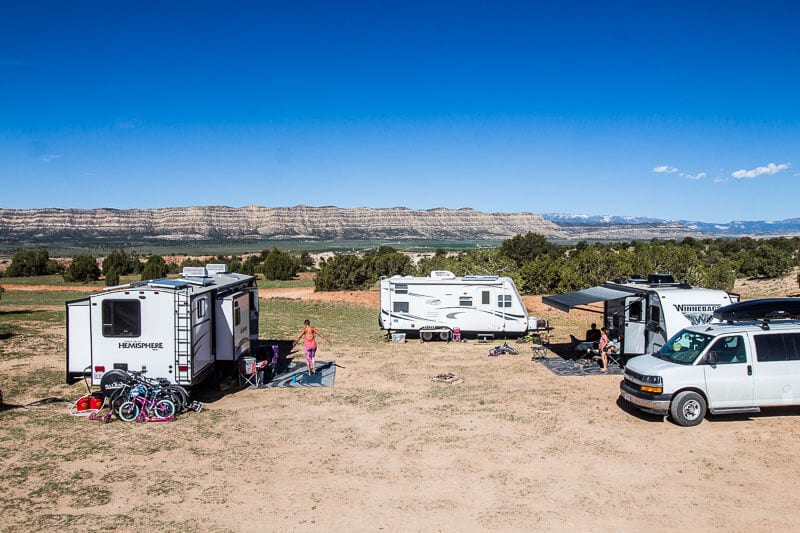 escalante boondocking