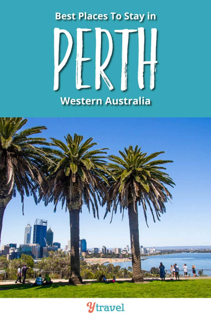 Planning to visit Perth? Here are 5 of the best places to stay in Perth Australia including Perth airport accommodation, Perth City hotels and Swan Valley wine area!