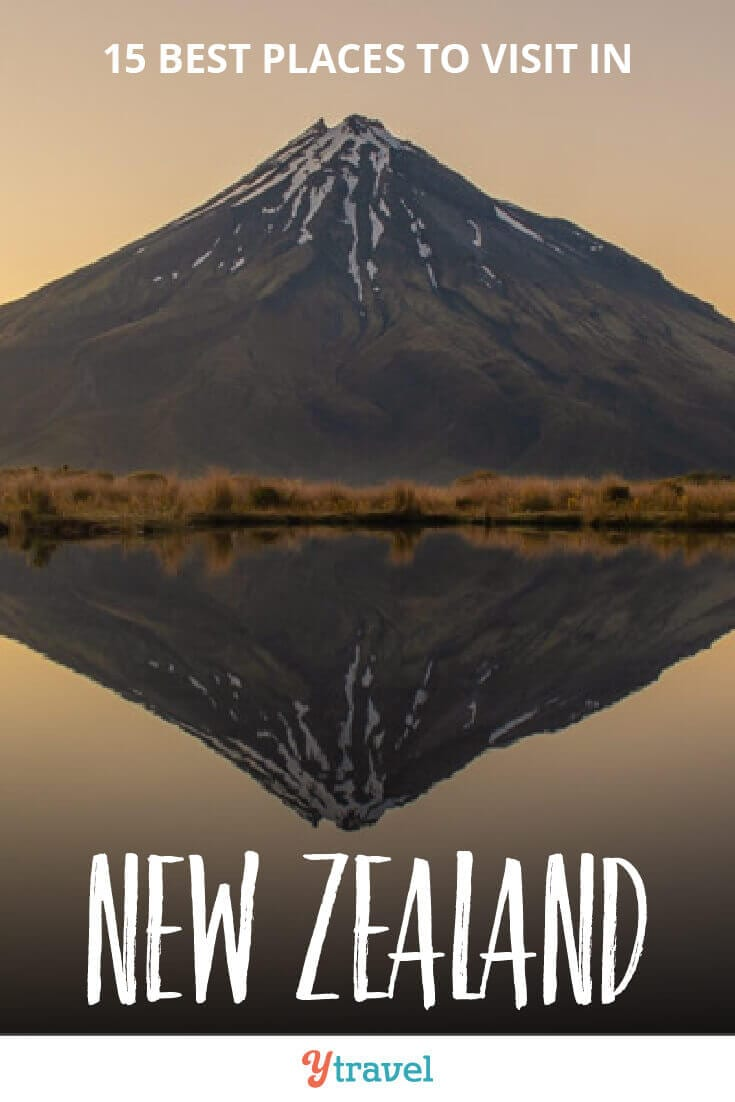 15 incredible places to visit in New Zealand, including the North and South Islands. Don't visit New Zealand before reading this New Zealand travel guide, plus get tips on where to stay in each place and tours in New Zealand.
