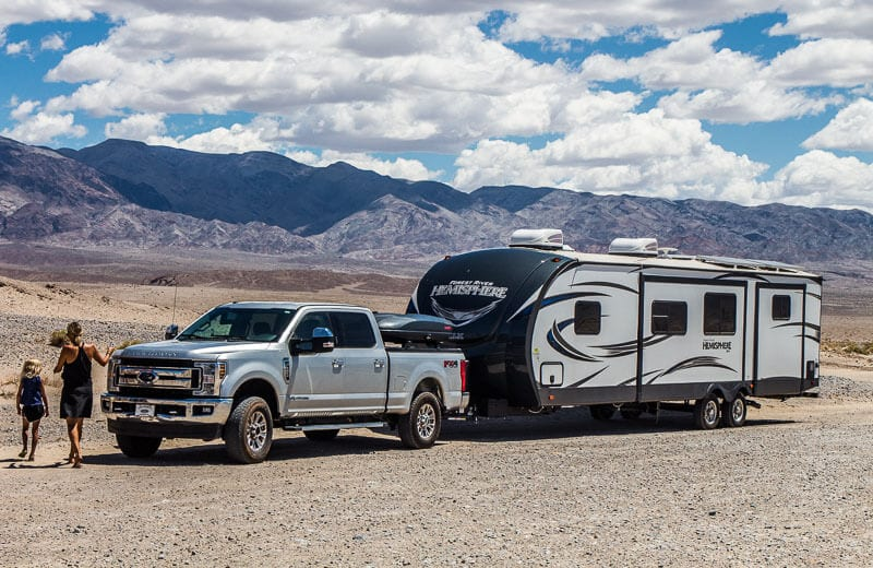 Rv travel Death Valley National PArk