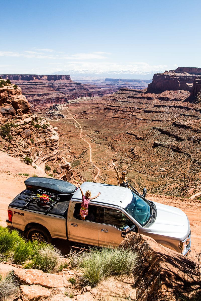 Shafer Trail Drive, Canyonlands National Park, Utah