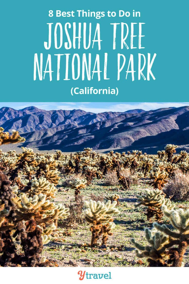 Best things to do in Joshua Tree National Park, including tips on how to get there, where to stay, and much more. This is one of the top National Parks in California and a great road trip destination for those that love the desert and hiking trails. See blog post for all the details.
