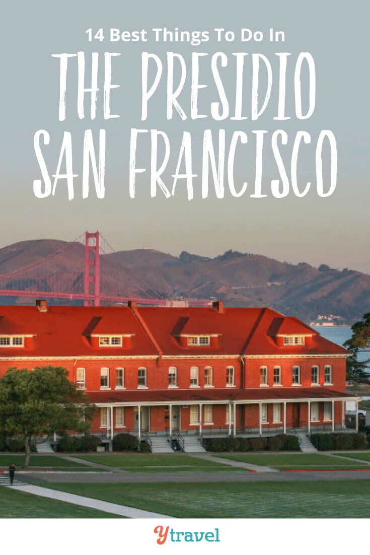 things to do in the presidio park