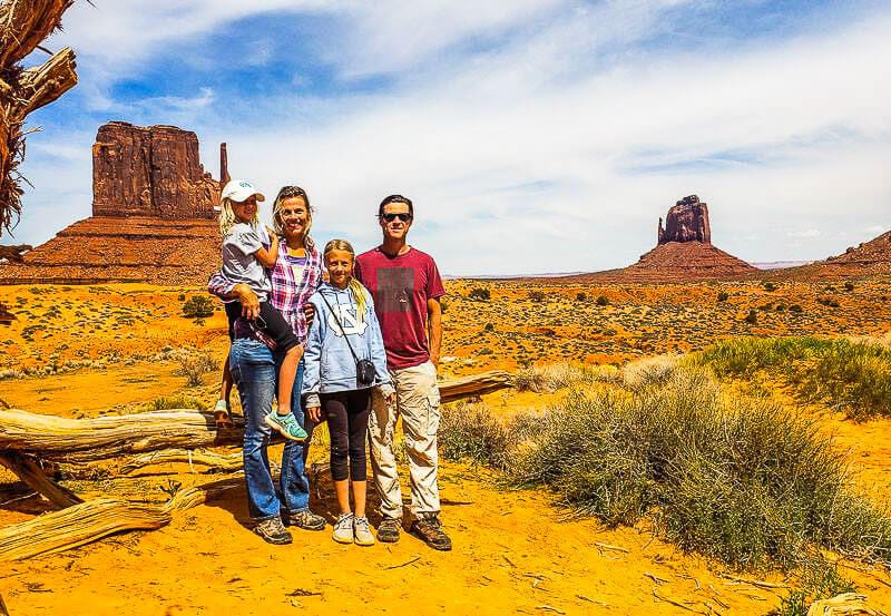 Y travel blog at Monument Valley Navajo Tribal park