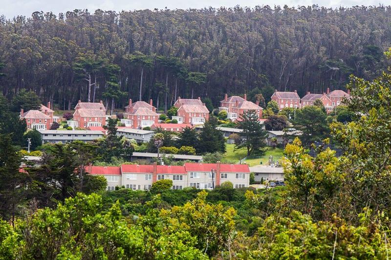 Presidio residential area