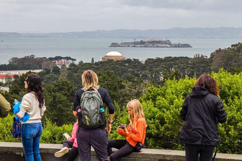 Inspiration Point, San Francisco Presidio