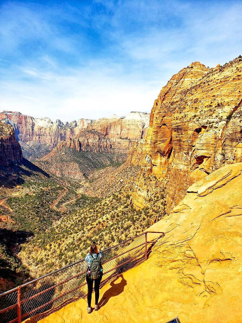 Canyon Overlook Trail - Zion National Park, Utah