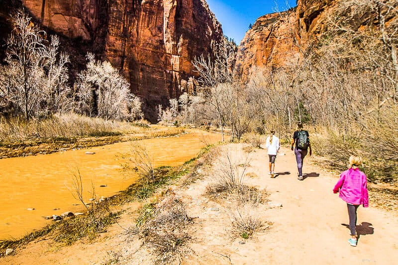 Riverside hike, Zion