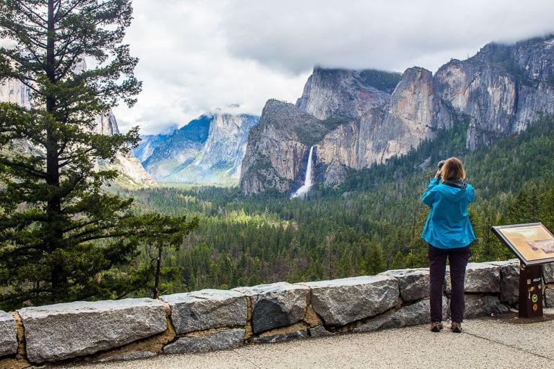 Vue du tunnel de la vallée de Yosemite