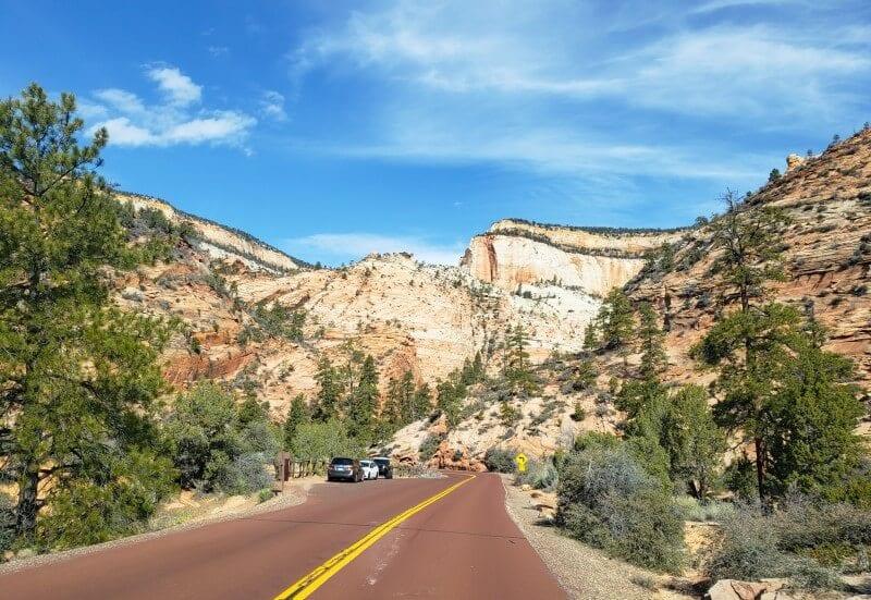 zion-national-park-scenic-drive ▷ Comente sobre la Guía definitiva de cosas que hacer en el Parque Nacional Zion (por primera vez) por Rachel Rodda