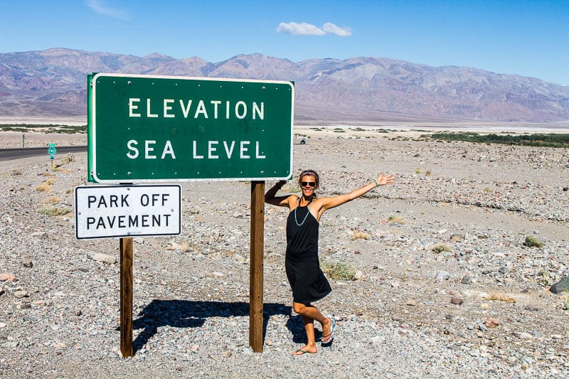 death valley national park with kids