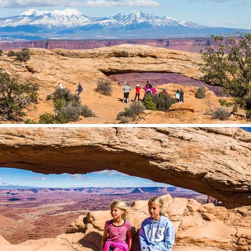 mesa arch trail canyonlands np