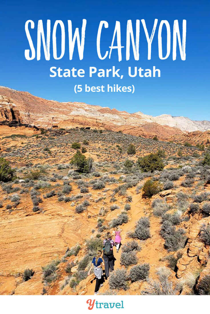things to do snow canyon state park