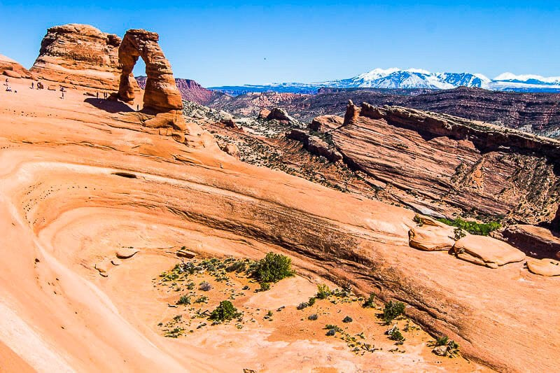 Best Delicate ARch viewpoint
