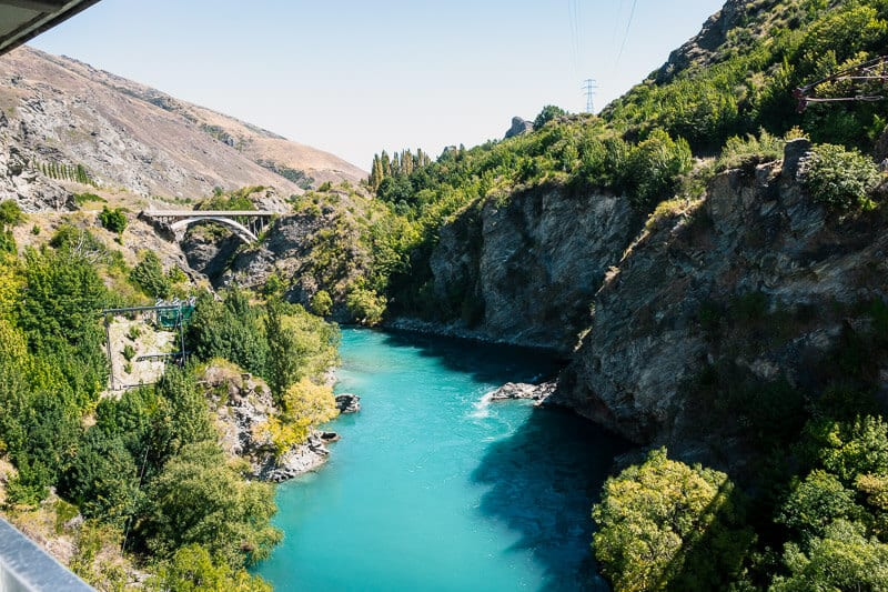 Bungy Jump in Queenstown New Zealand