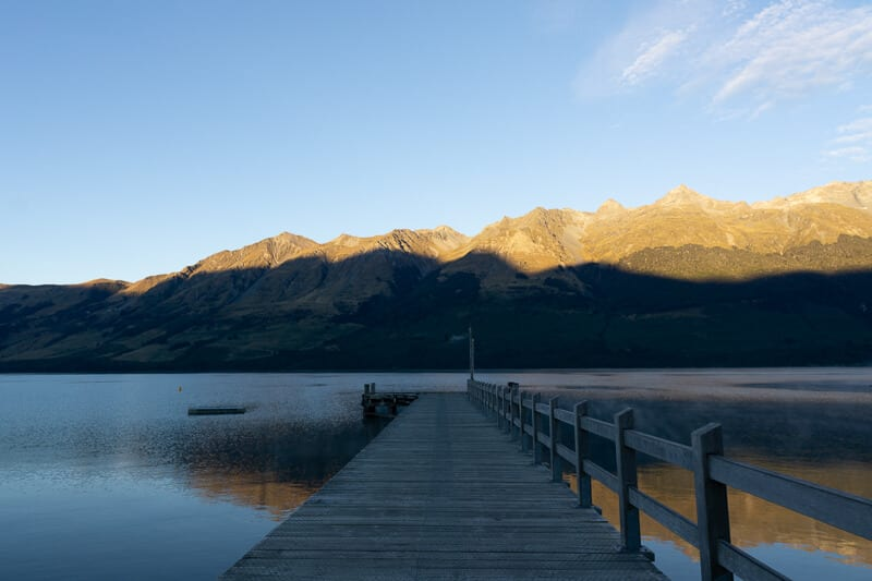 See the Sunrise at Glenorchy