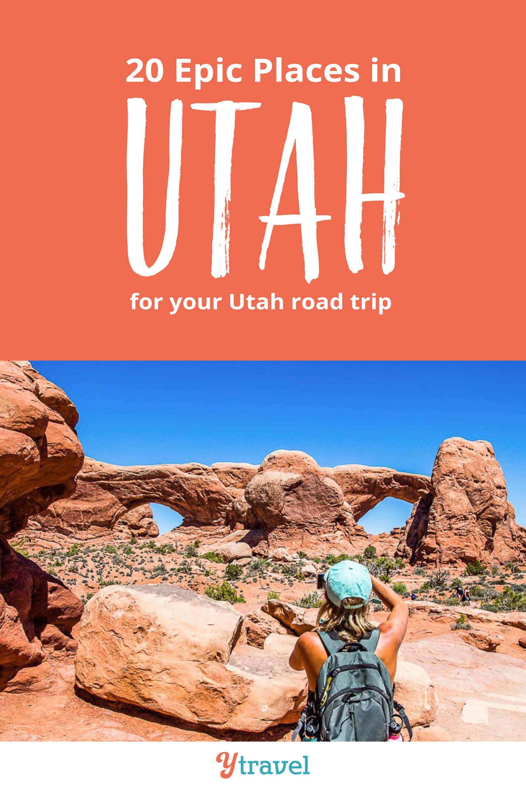 Planning to visit Utah? Here are 20 incredible places to visit in Utah for your Utah road trip. Don't take a Utah vacation before reading this Utah travel guide!