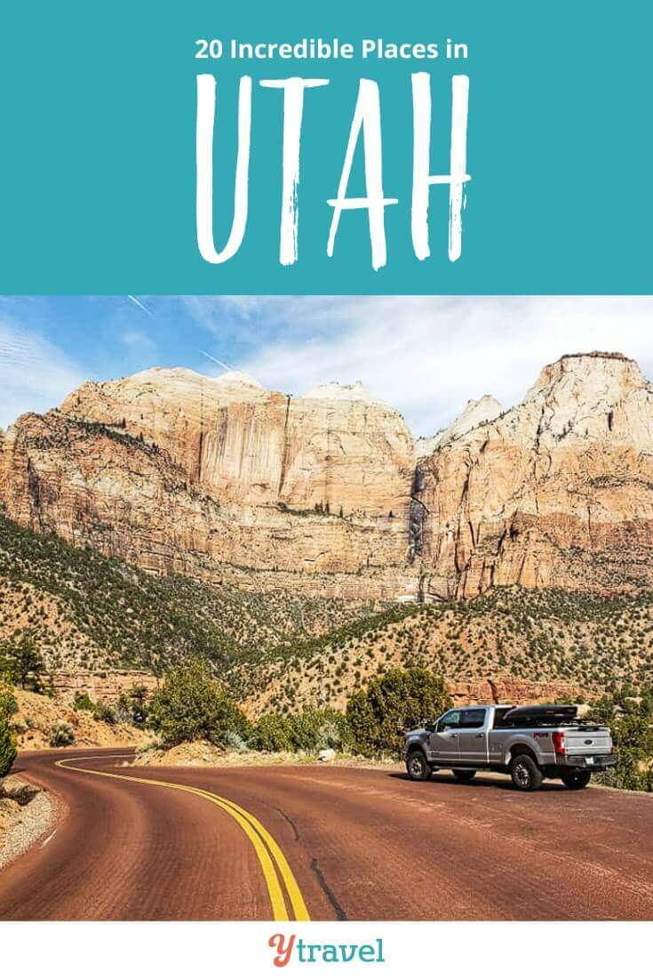 Planning to visit Utah soon? Here are 20 epic places to visit in Utah for your Utah road trip. Don't take a Utah vacation before reading this Utah travel guide!