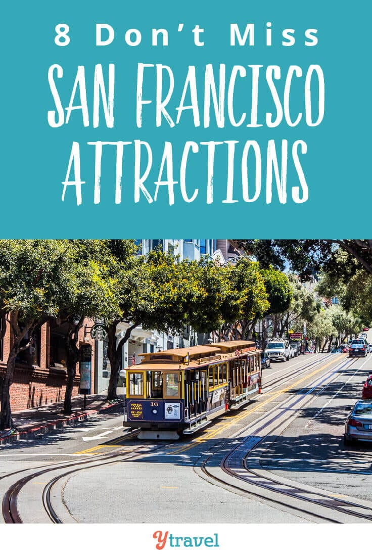 Planning a San Francisco vacation? Here are 8 must do San Francisco attractions not too miss. Plus how to save money on a San Francisco trip. Don't visit California until you have read this San Francisco travel guide.