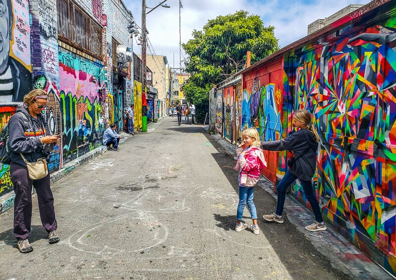 Mission District - One of the best things to do in San Francisco with kids