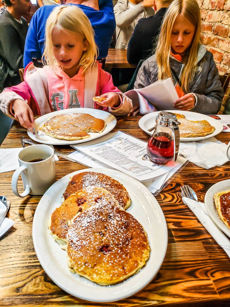 Dottie's - One of the best things to do in San Francisco with kids