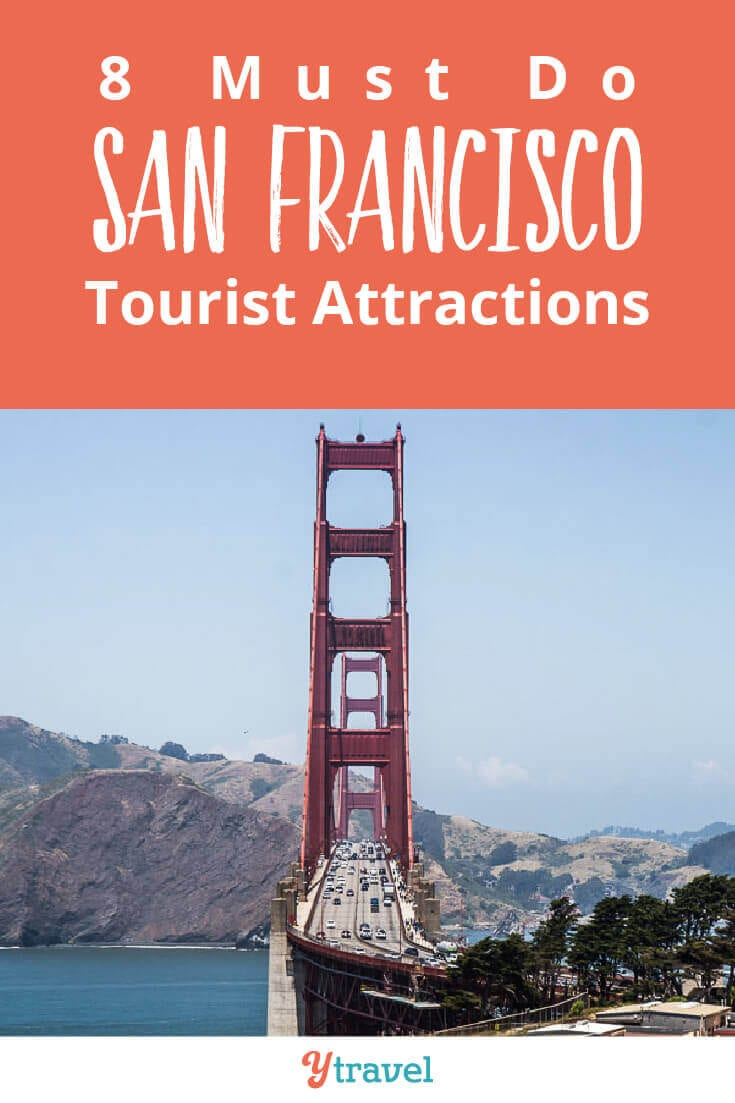 Planning to visit San Francisco? Here are 8 must do San Francisco attractions not too miss. Plus how to save money on a San Francisco trip. Don't visit California until you have read this San Francisco travel guide.
