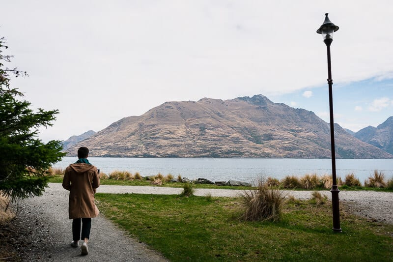 Walk Through the Queenstown Gardens