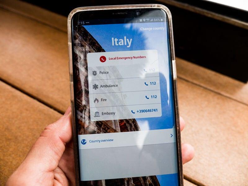 Allianz travel insurance smart app
