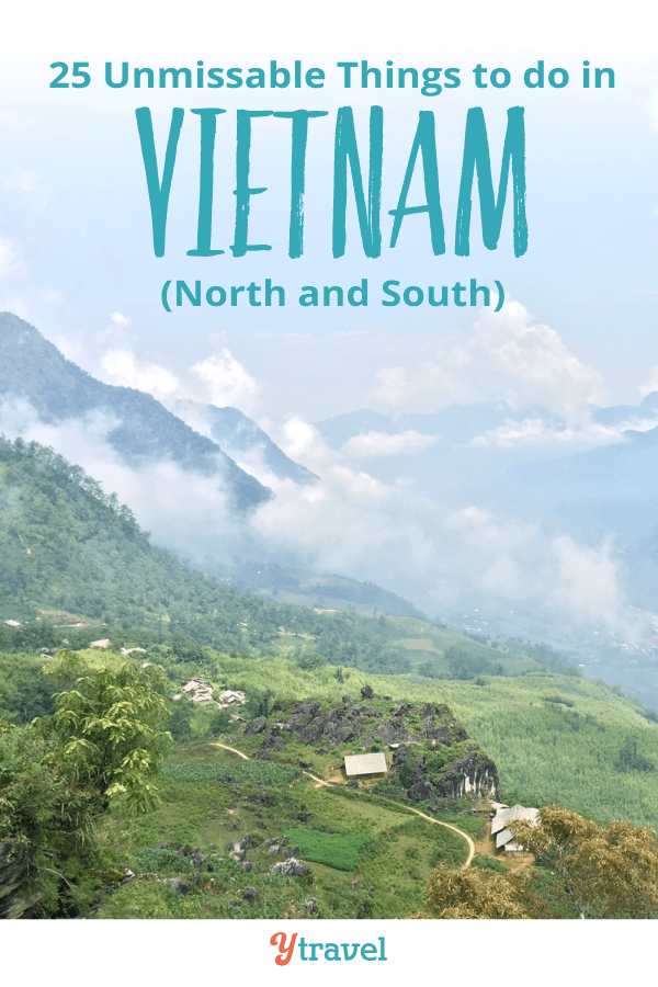 Planning a trip to Vietnam? Here are 25 do not miss things to do in Vietnam including incredible places to visit in Vietnam, Vietnamese food to eat, places to stay, and travel tips on visas, currency, transport, Vietnam tours and much more! Don't visit Vietnam before reading this Vietnam travel tips guide!