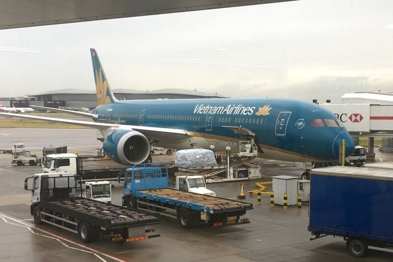 Transporte - Vietnam Airlines
