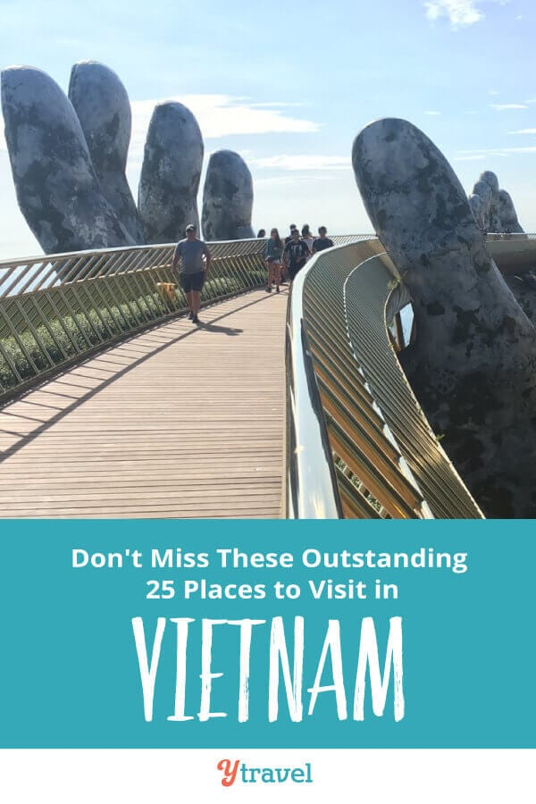 Looking to visit Vietnam? Here are 25 do not miss things to do in Vietnam including incredible places to visit in Vietnam, Vietnamese food to eat, places to stay, and travel tips on visas, currency, transport, Vietnam tours and much more! Don't visit Vietnam before reading this Vietnam travel tips guide!