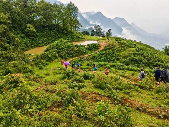 Trekking in Sapa - Best things to do in Vietnam