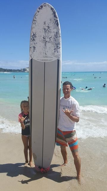 Surfing Lesson in Waikiki