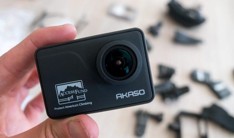 akaos v50 pro special edition camera
