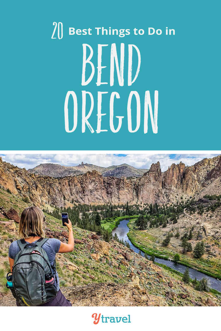 Looking for tips about Bend Oregon? Here are 20 of the best things to do in Bend including tubing, beer drinking, and hiking. Plus tips on where to stay in Bend and much more! Don't visit Oregon without reading this Bend travel guide!