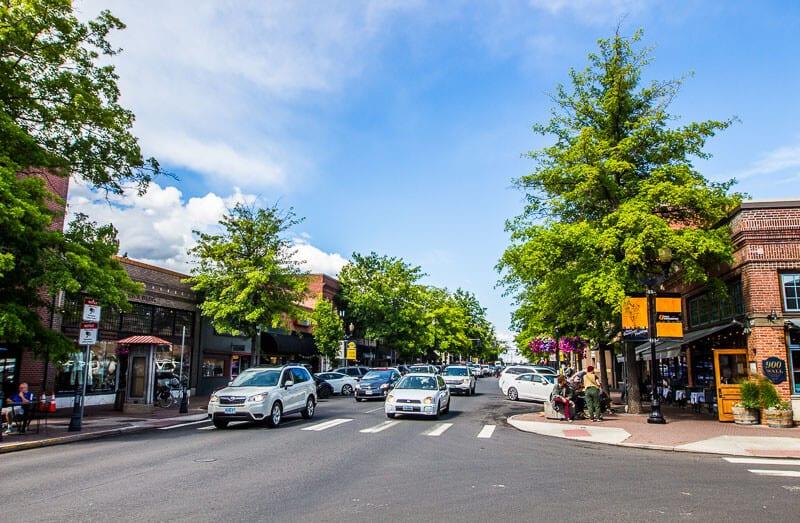 Downtown Bend Oregon