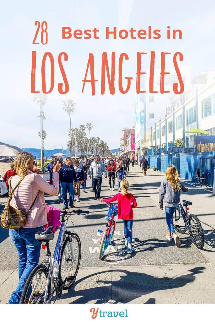 Avant de visiter LA, consultez cette liste des 28 meilleurs hôtels de Los Angeles. Ces hôtels de Los Angeles sont situés dans les quartiers les plus populaires de Los Angeles, tels que Santa Monica, Hollywood, le centre-ville de Los Angeles et LAX. Ne réservez pas vos vacances à Los Angeles avant d'avoir lu ces conseils de voyage à Los Angeles.