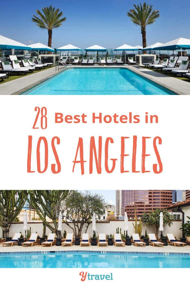 Planning to visit LA? If you don't know where to stay in Los Angeles here are 28 of the best hotels in Los Angeles. Choose from LA hotels in the most popular LA neighborhoods Santa Monica, Hollywood, Downtown LA and LAX. Don't book your Los Angeles vacation before reading these LA travel tips.