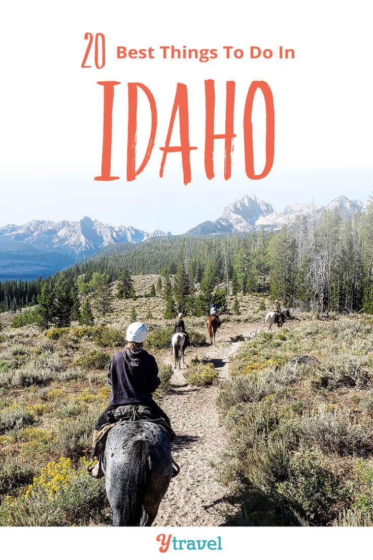 Planning a trip to Idaho? Here are 20 amazing things to do in Idaho on your Idaho vacation from north to south and in between. Don't take an Idaho trip before reading this Idaho travel tips guide!