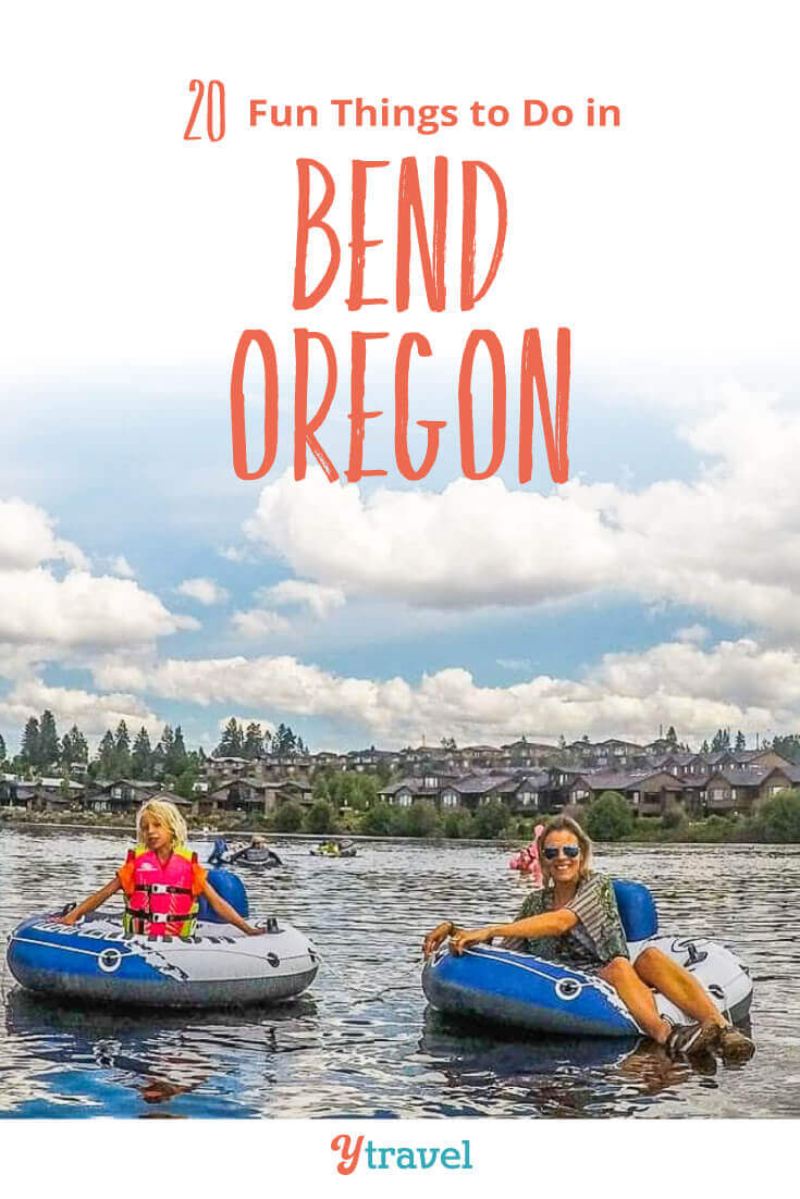 Planning to visit Bend Oregon? Here are 20 of the best things to do in Bend including tubing, beer drinking, and hiking. Plus tips on where to stay and much more! Don't visit Oregon without reading this Bend travel guide!