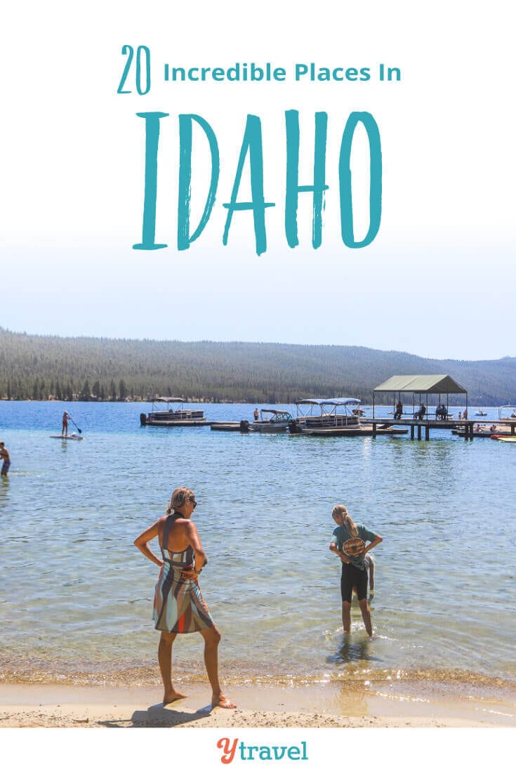 Planning to visit Idaho? Here are 20 amazing things to do in Idaho on your Idaho vacation from north to south and in between. Don't take an Idaho trip before reading this Idaho travel tips guide!