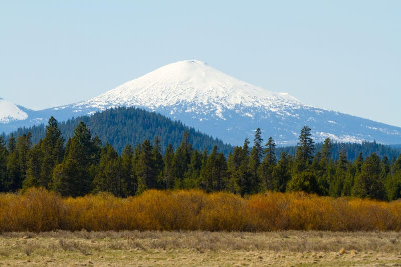 Single de Mount, Oregon