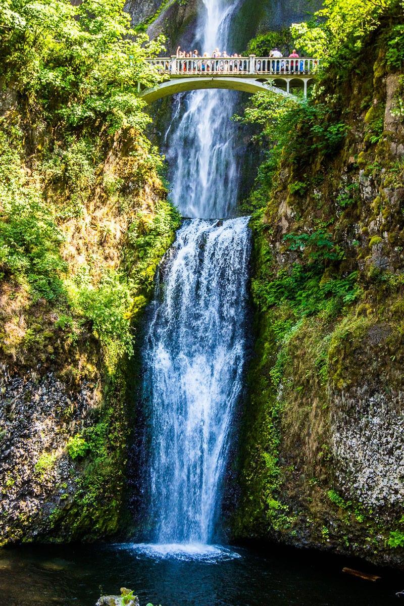 Chutes de Multnomah près de Portland, Oregon