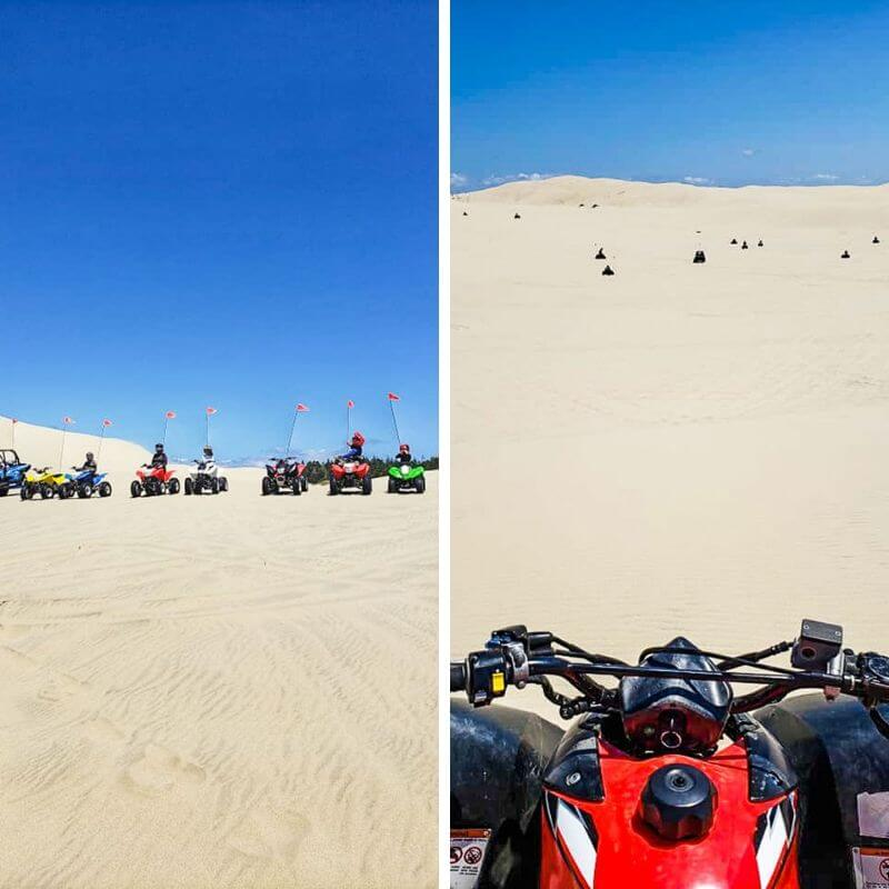Quad biking the Oregon Sand Dunes