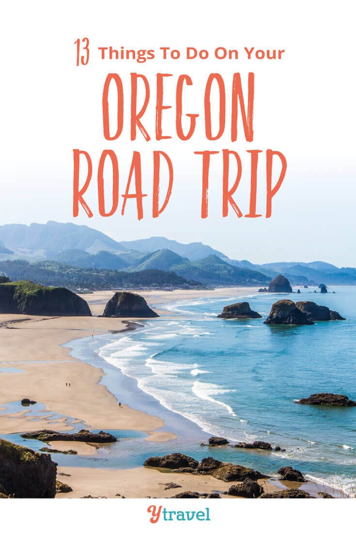 If you are planning an Oregon road trip, here are 13 places to visit in Oregon to put on your Oregon road trip itinerary. Don't visit Oregon before reading these Oregon travel tips!
