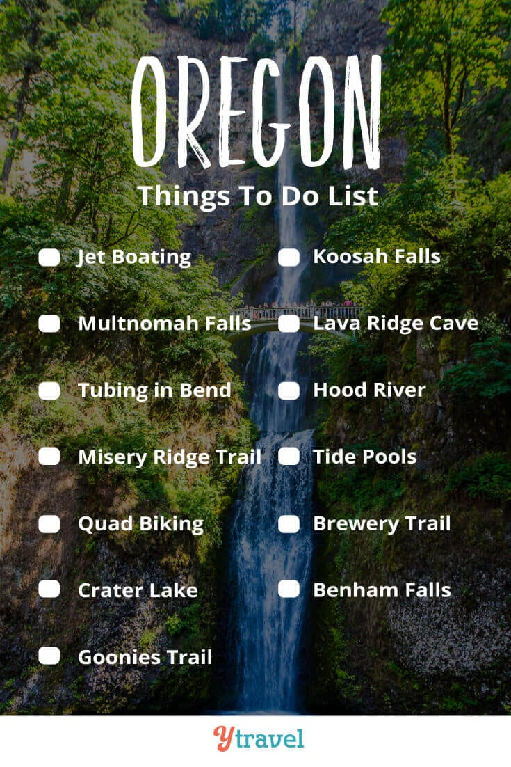 Planning to visit Oregon? Here are 13 adventures tp put on your Oregon road trip itinerary from the coast to the mountains to the forest. Don't take a trip to Oregon before reading these Oregon travel tips!