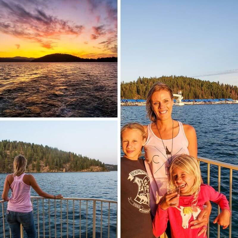 Lake Coeur D' Alene cruise