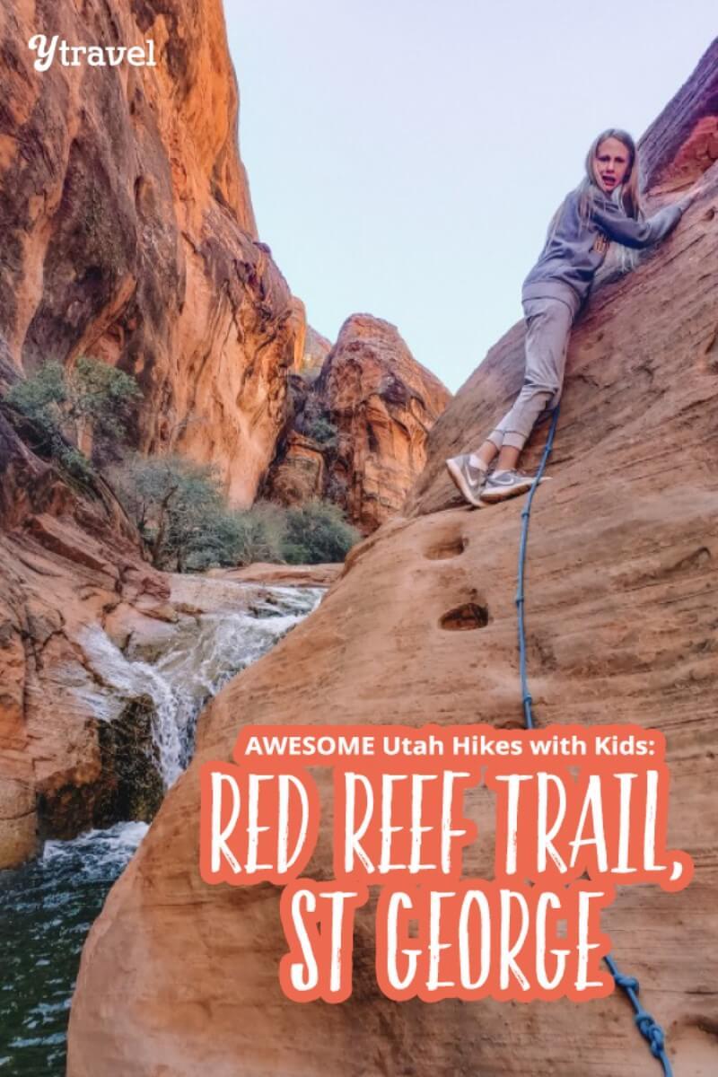 red reef trail utah hikes