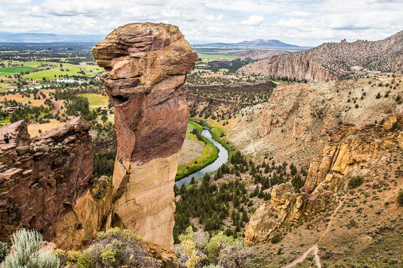 Misery Ridge Trail, parc d'état de Smith Rock
