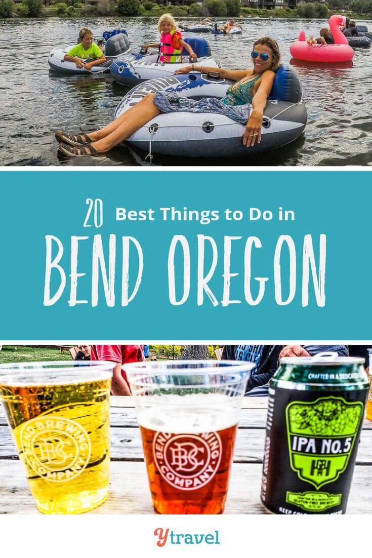 Planning to visit Bend? Here are 20 do not miss things to do in Bend Oregon including tubing, beer drinking, and hiking. Plus tips on where to stay and much more! Don't visit Oregon without reading this Bend travel guide!